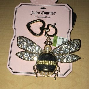 Juicy Couture Bling Bee Key Fob